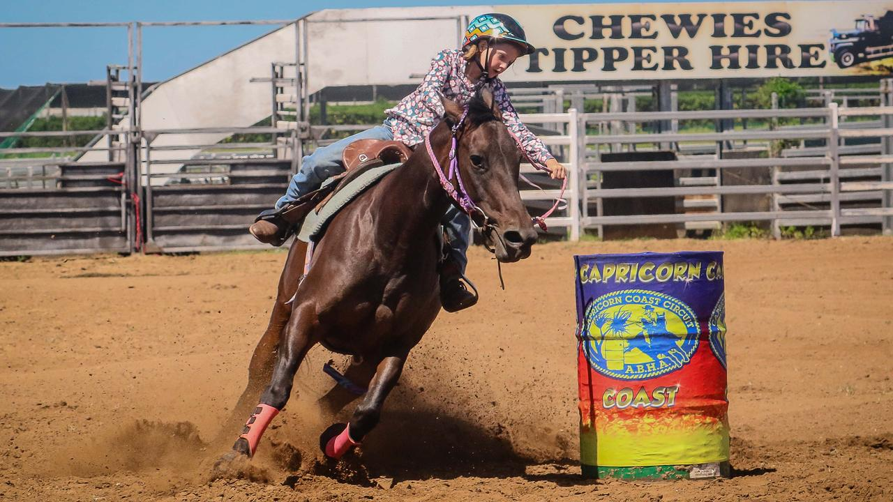 Katie Humble, pictured aboard Betty, will compete at her first ABHA State Championships in Gracemere this weekend. Photo: JEM Photography