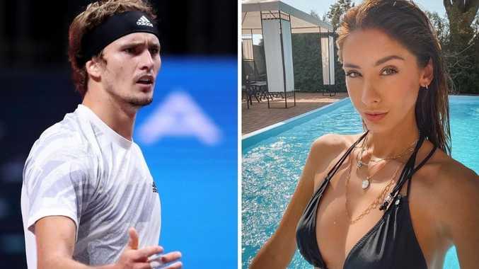 Model's bombshell rocks tennis star