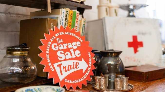 Massive garage sale back on in Gladstone