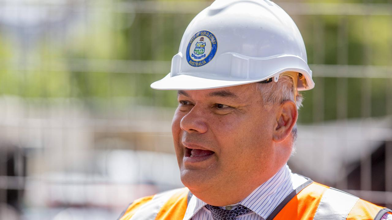 Gold Coast Mayor Tom Tate. Picture: Jerad Williams