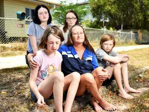 Rental crisis leaves family out on the streets