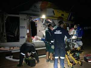 UPDATE: Friend finds man badly hurt after quad bike crash