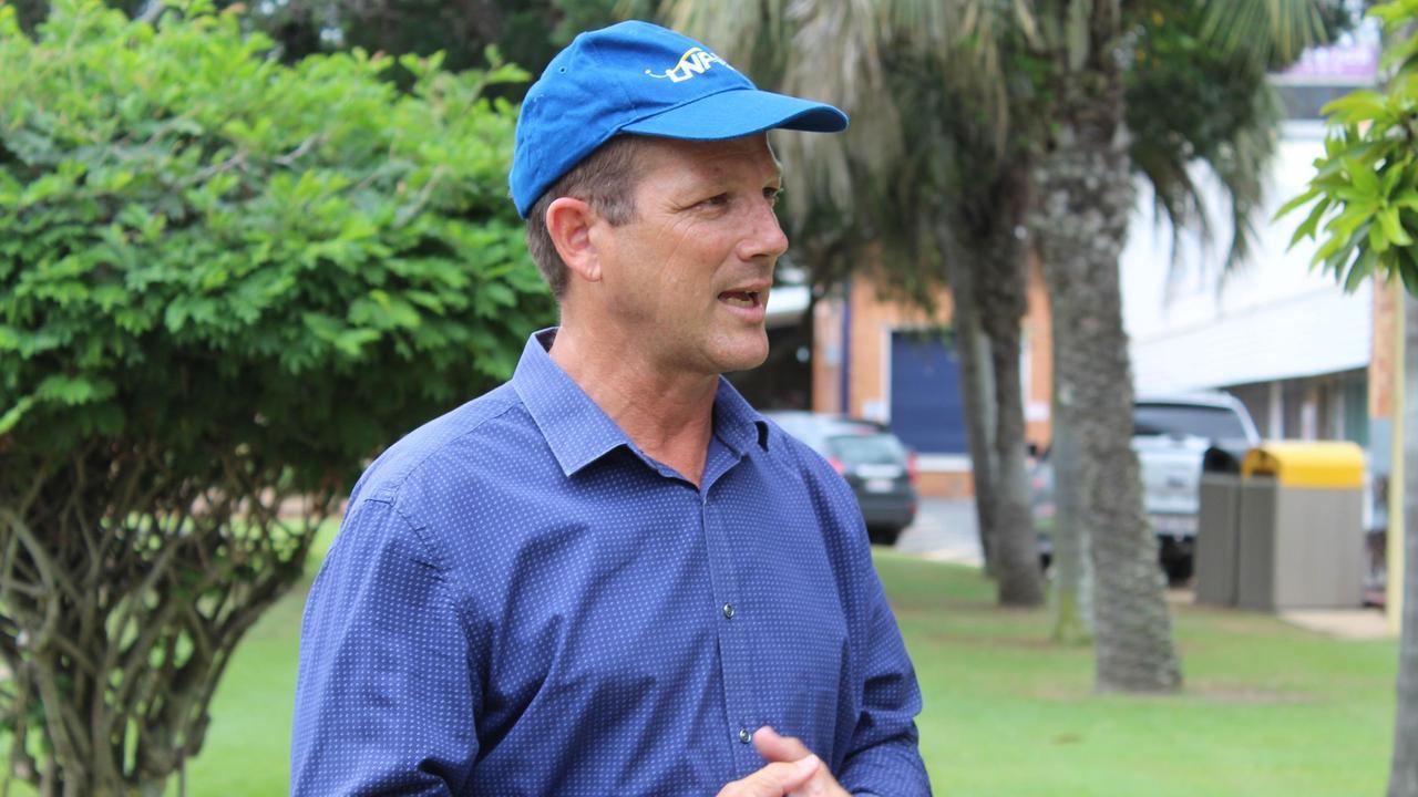 Incumbent Bundaberg MP David Batt.