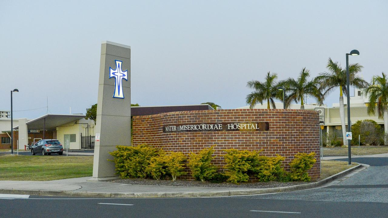 The former Gladstone Mater Hospital will now be known as the West Wing facility as part of the Gladstone Hospital health campus.