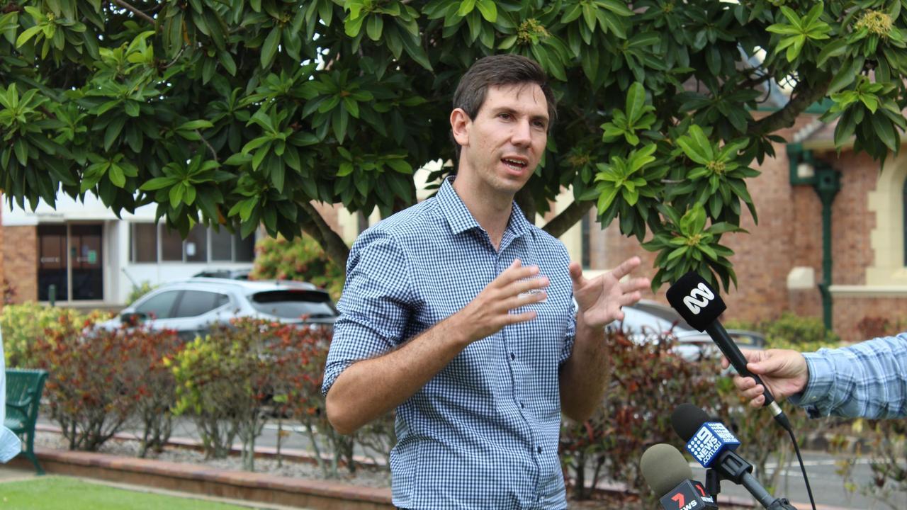 Bundaberg's Labor Candidate Tom Smith.