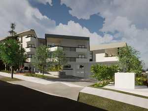 Design plans for 56 unit complex