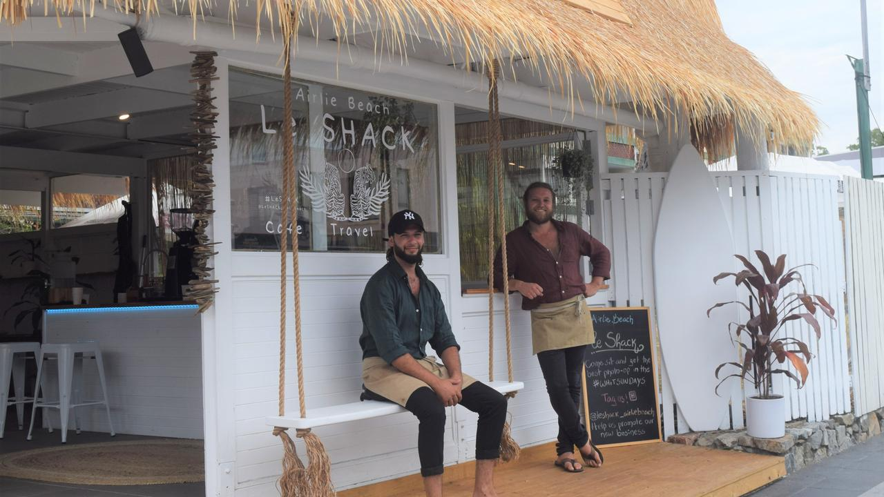 Le Shack opened last week and has bicycles and electric scooters for hire. Picture: Laura Thomas