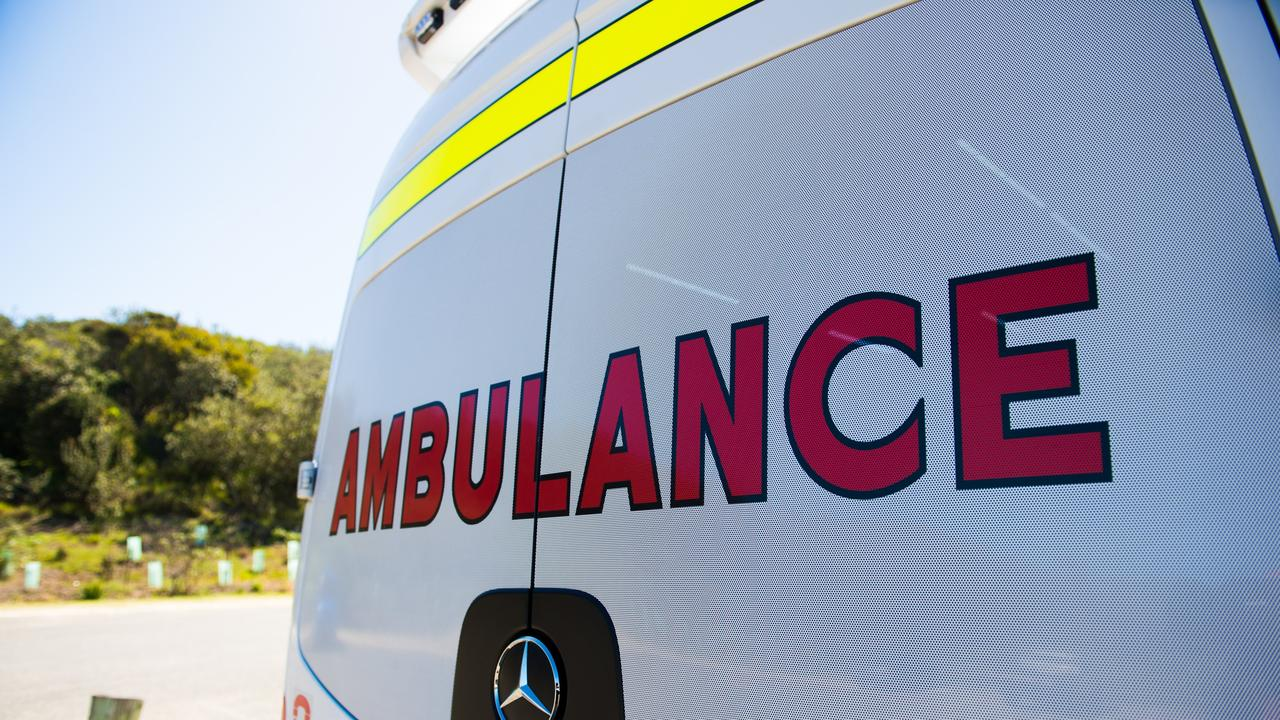 Paramedics responded to a two-vehicle crash in Gatton on Thursday afternoon.