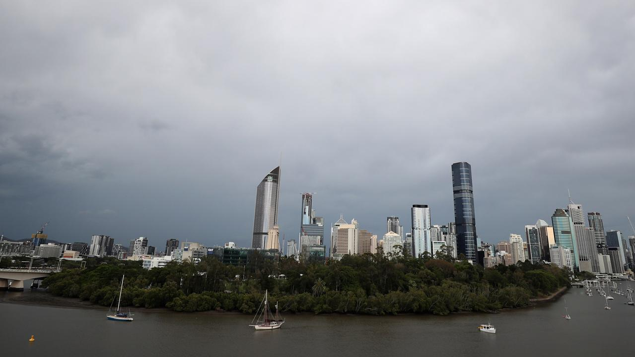Wet weather will return to Brisbane over the weekend. Pic Peter Wallis