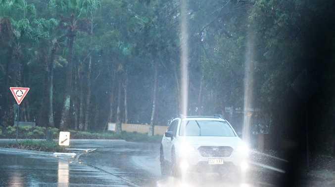 77MM FALLS: When wild weather will lash Coast again