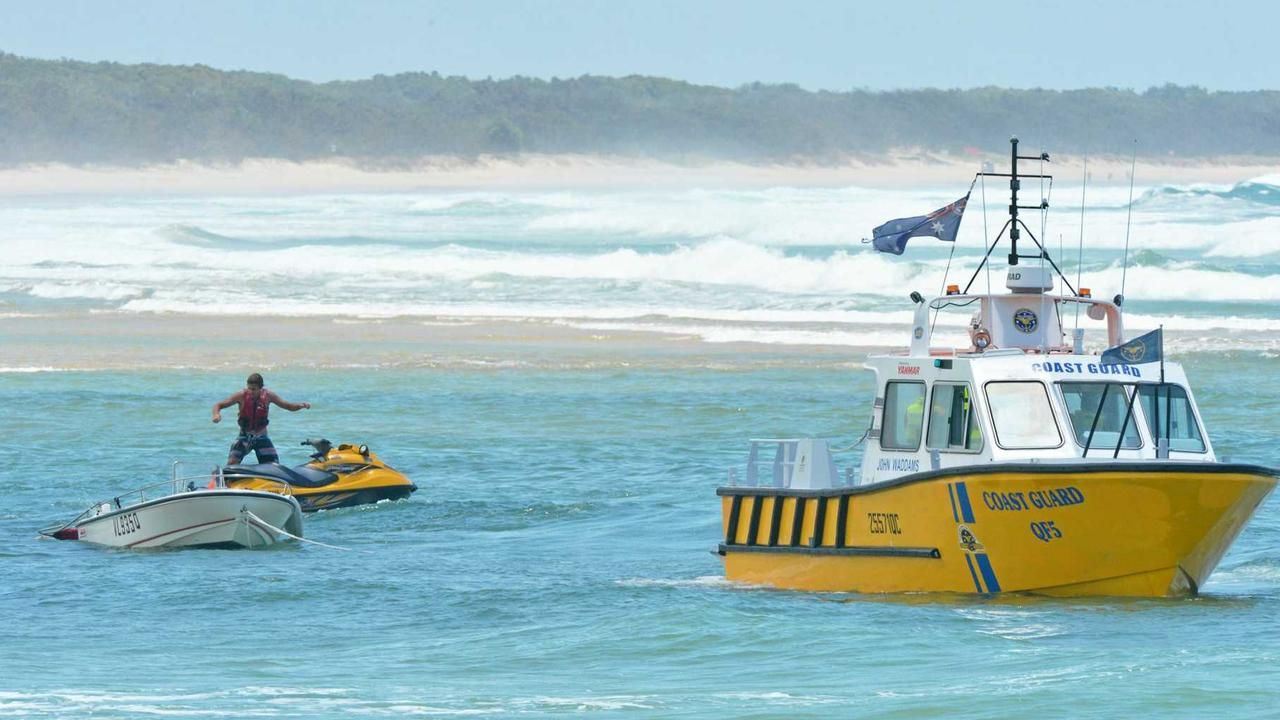 Coast Guard Noosa's leader says the organisation may need rescuing from Labor's plans for a marine rescue amalgamation.