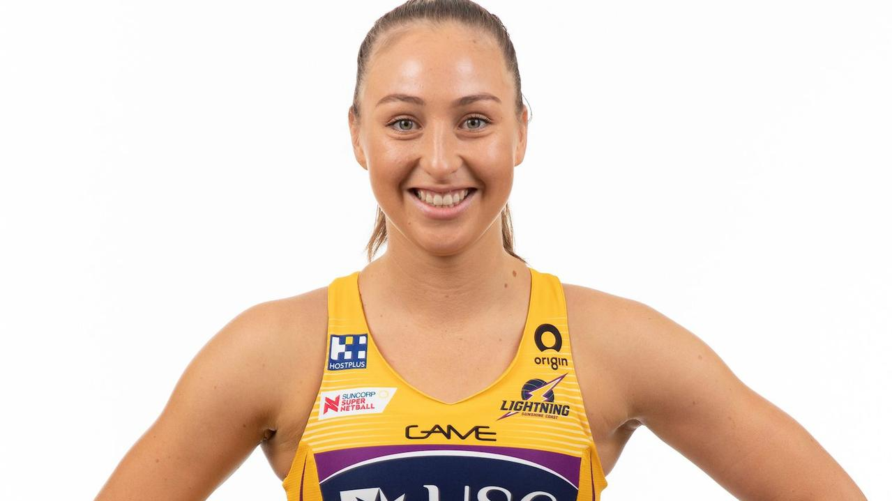 Sunshine Coast Lightning's Ashlee Unie. Picture: Eyes Wide Open Images / Barry Alsop