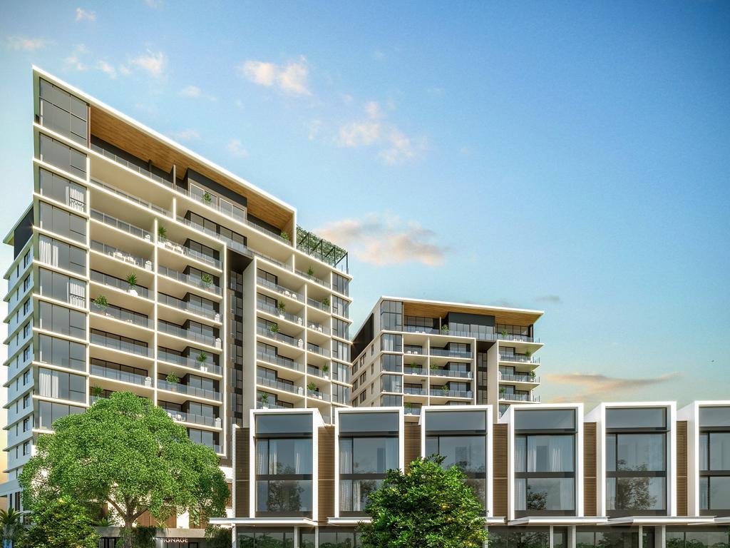 Habitat's $83 million Market Lane project is located at the Mundoo Boulevard entrance to the new Maroochydore CBD.