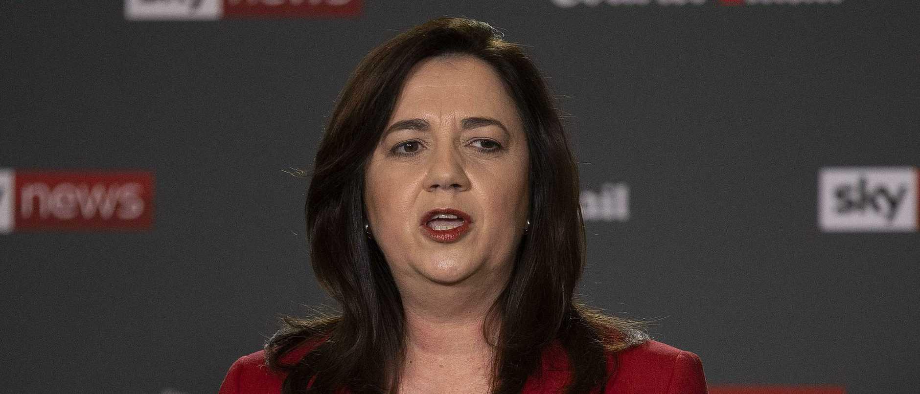 Premier Annastacia Palaszczuk has maintained a harsh line