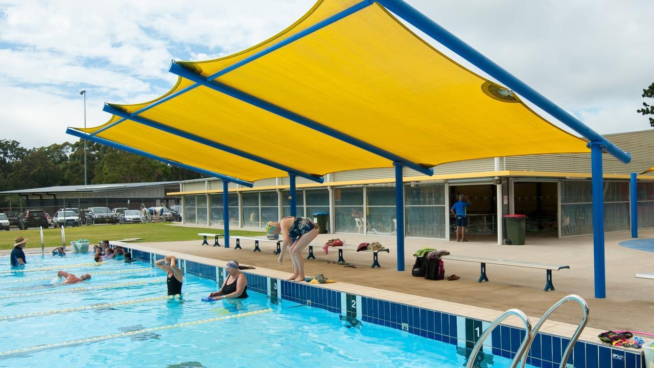 Coffs Harbour pool.
