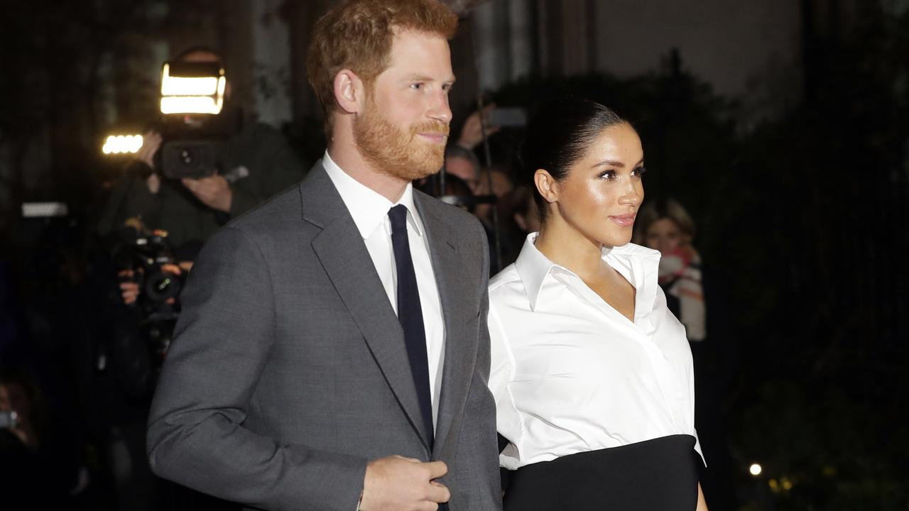 Prince Harry and Meghan Markle. Picture: AP Photo/Kirsty Wigglesworth