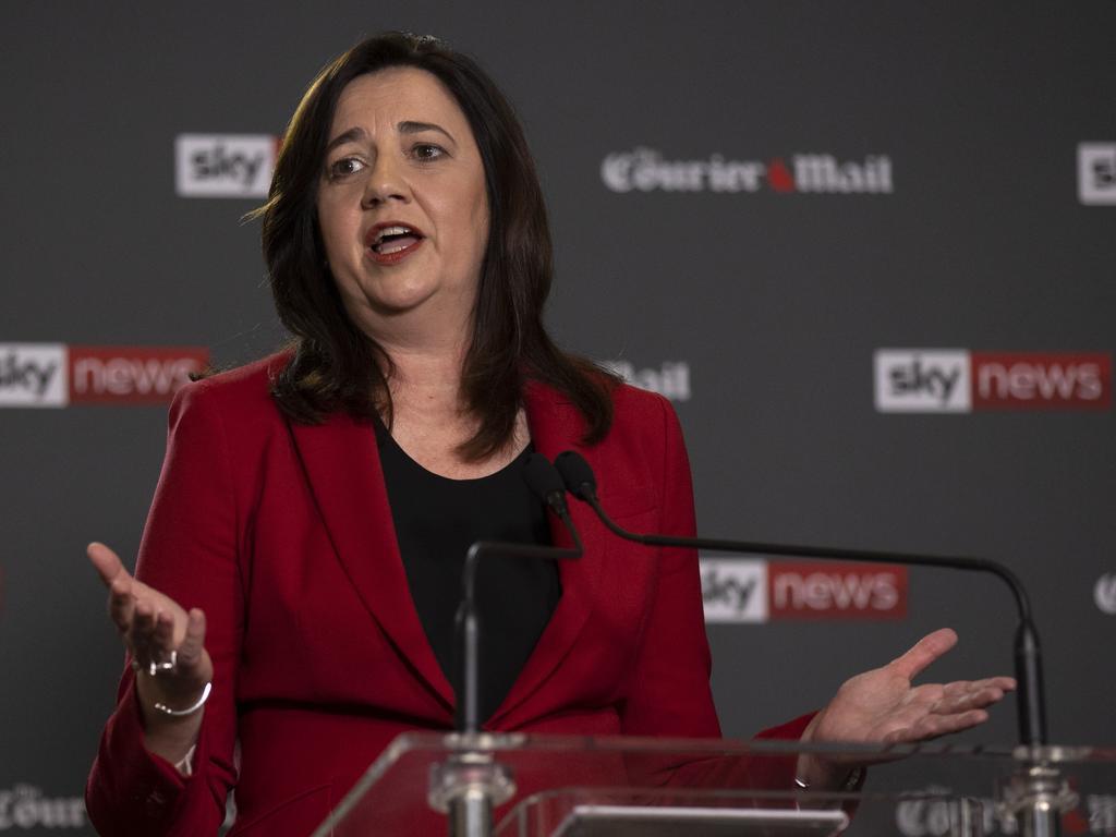 Premier Annastacia Palaszczuk. Picture: NCA NewsWire / Sarah Marshall