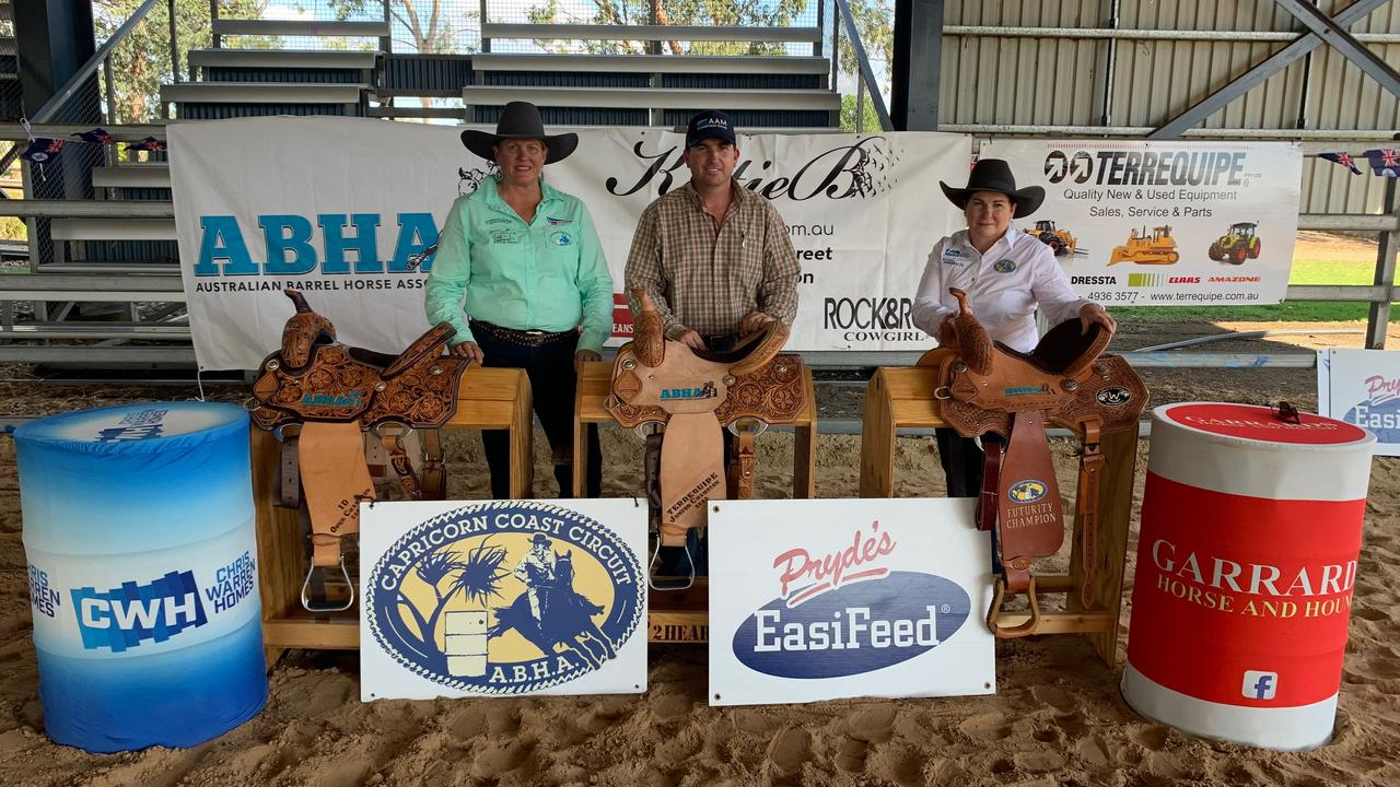 Cap Coast ABHA president Suzy Patteson, AAM regional operations manager Gavin Tickle and Cap Coast ABHA secretary Maree Prow are gearing up for the state championships this weekend.