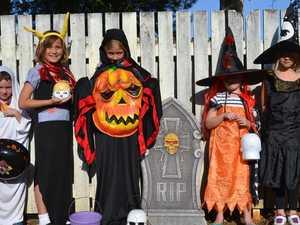 Spook-tacular Chinchilla Halloween house list