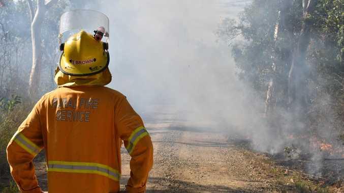 Multiple fire crews still battle to contain bushfire