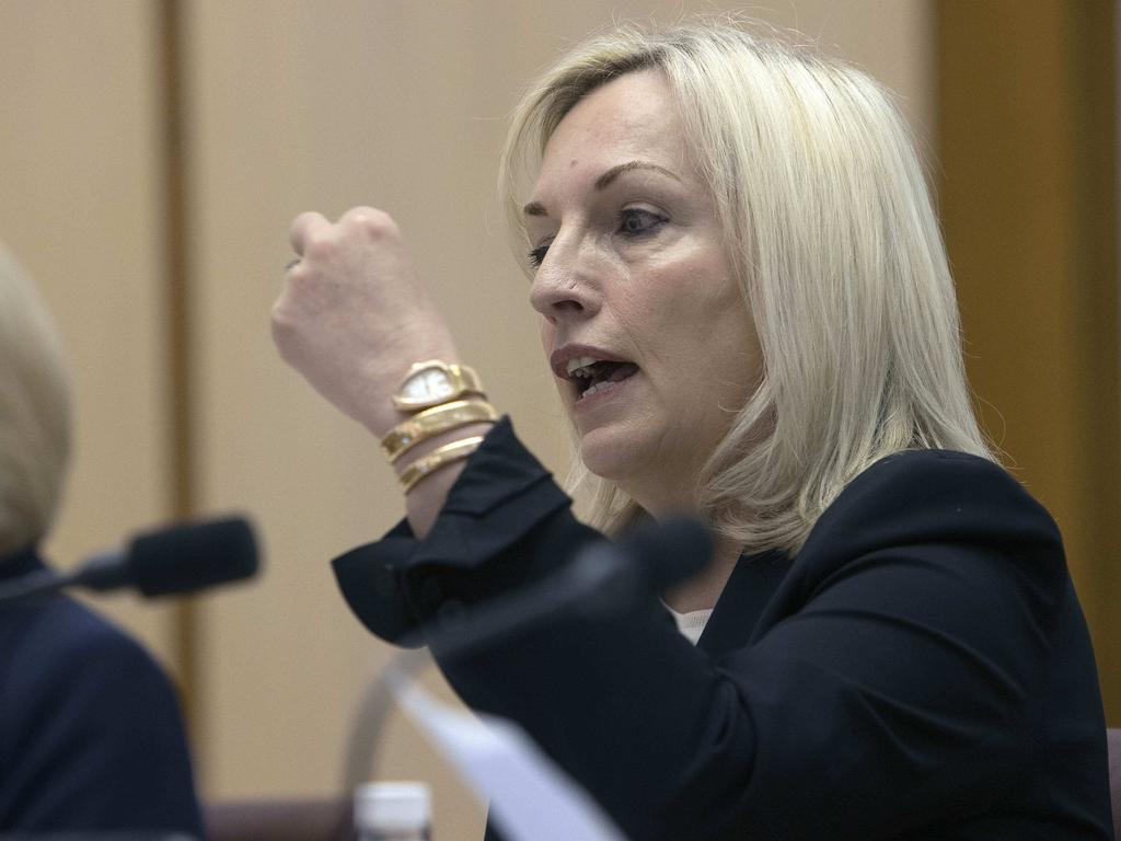 Australia Post chief executive Christine Holgate told Senate estimates the company bought Cartier watches for senior staff. Picture: NCA NewsWire/Gary Ramage