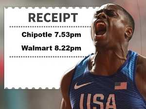 Receipts expose world's fastest man