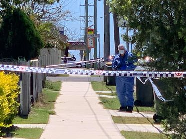 Police are at the scene of a suspicious death at Kepnock.