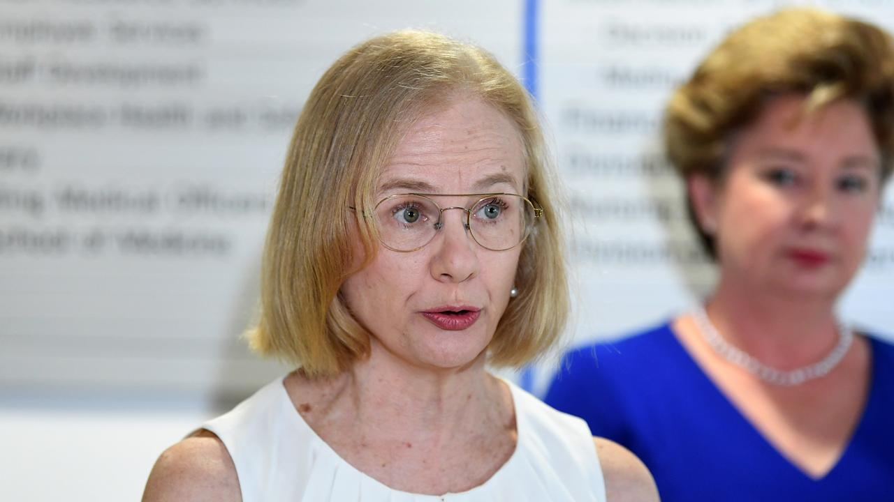 Queensland Chief Health Officer Dr Jeanette Young. Picture: NCA NewsWire / Dan Peled