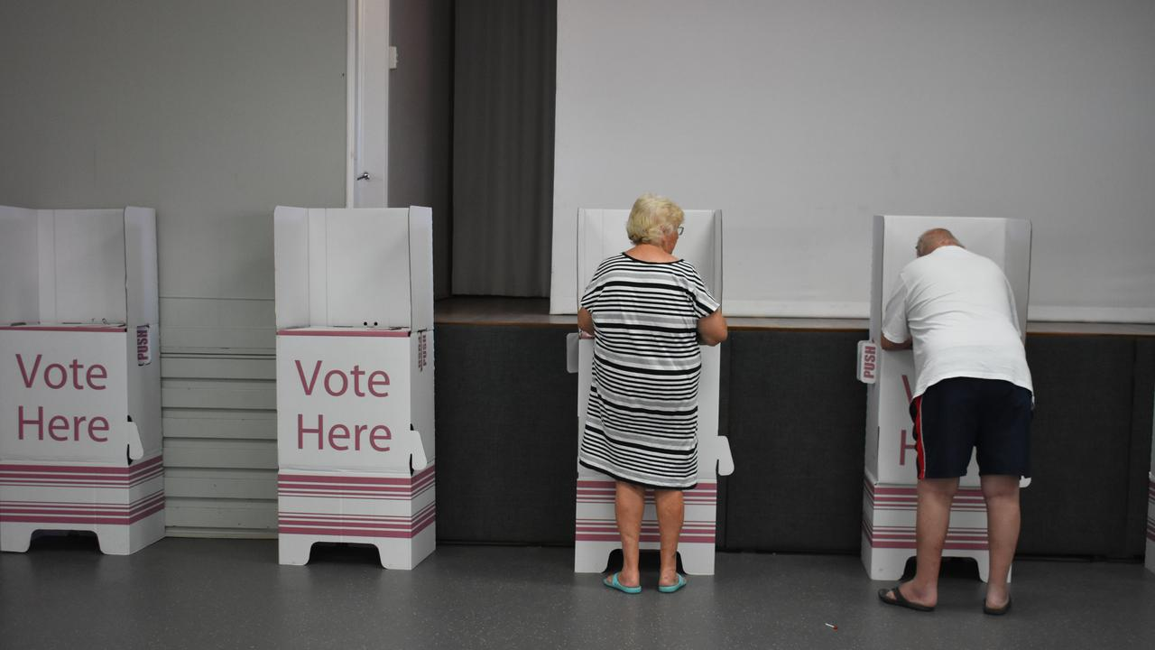 It's Election Day – happy voting! Picture: Melanie Whiting