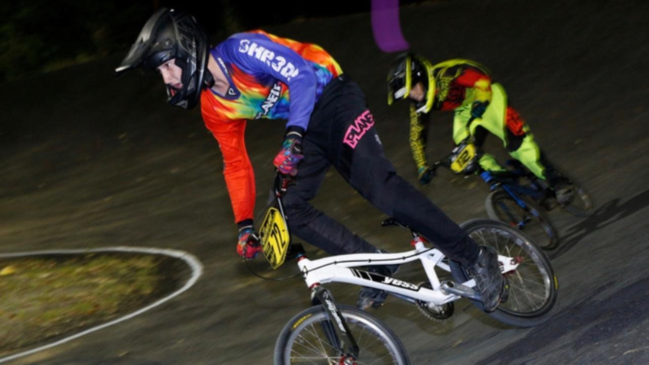 Mackay and District BMX club rider Tyler Morgan.