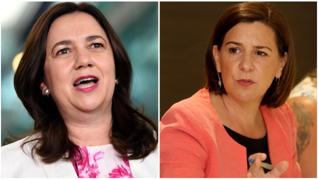 Annastacia Palaszczuk and Deb Frecklington will face off again