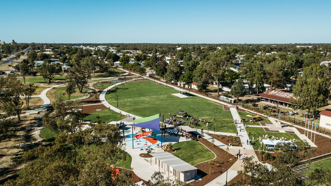 BEST IN AUSTRALIA: Chinchilla Botanic Parkland has been named Australia's Park of the Year, trumping every other state and territory in the country. Picture: File