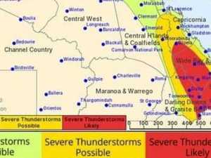 Saturday shaping up for explosive weather in Gympie region