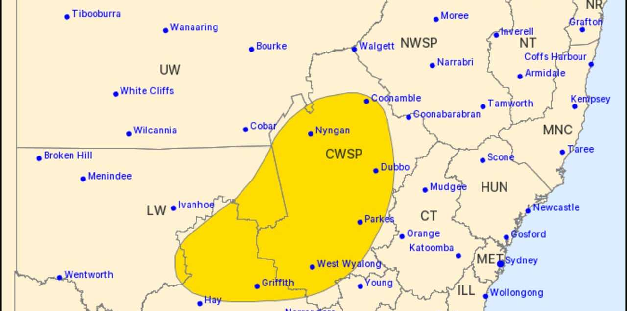 Thunderstorms with hail and severe winds are expected to lash parts of NSW on Friday afternoon, but the rest of the state won't be spared either.