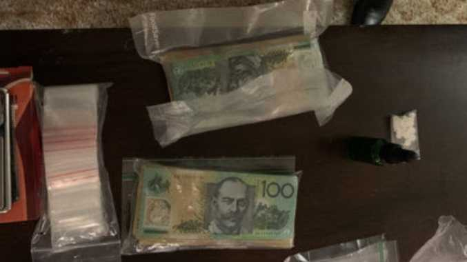 Large haul of drugs, cash seized in North Rocky raid
