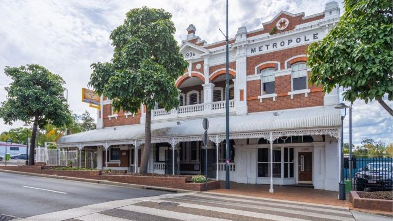 NEW OWNER: Hotel Metropole, at 253 Brisbane St, Ipswich, has sold for a tidy $1 million.