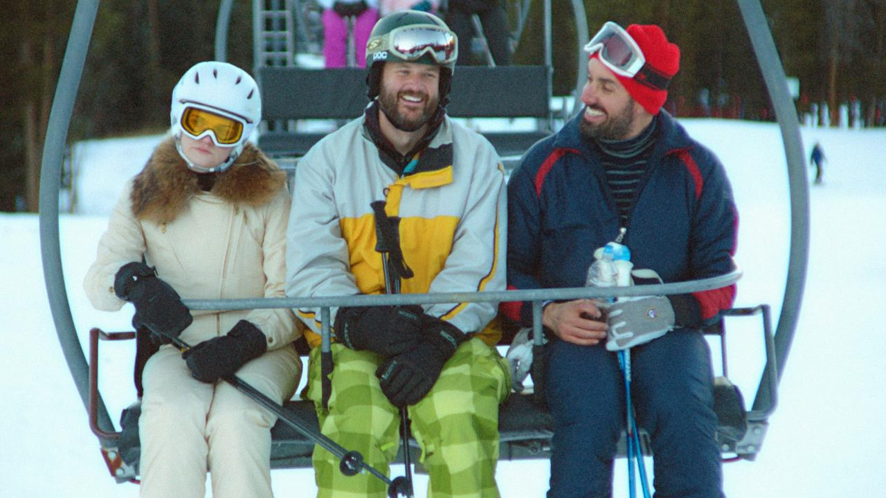 Gayle Rankin, Kyle Marvin and Michael Angelo Corvino in The Climb