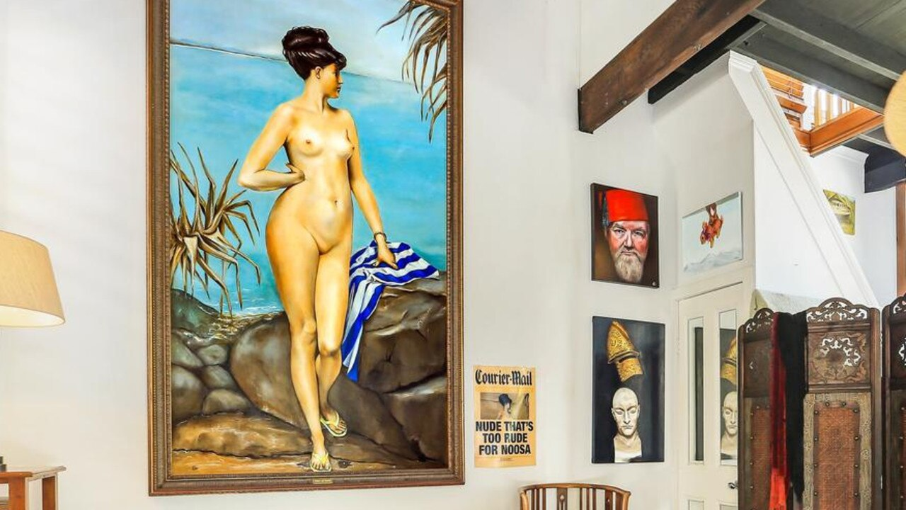 Chloe of Noosa – part of the naked truth of Noosa's colourful political history.