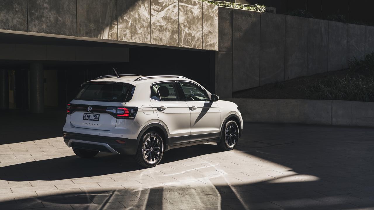 The 2020 model Volkswagen T-Cross Life.
