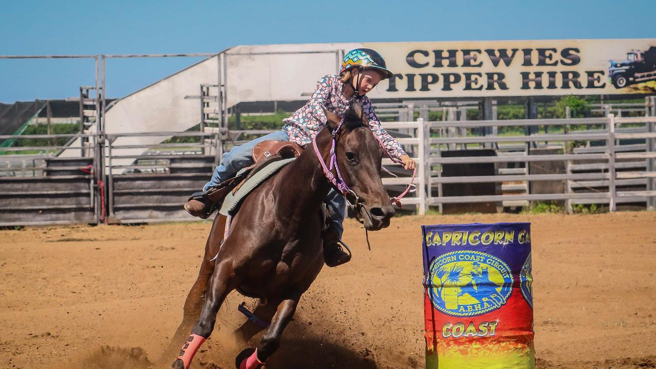 STAR QUALITY: Katie Humble, pictured aboard Betty will compete in the peewees at the weekend's ABHA State Championships in Gracemere. Photo: JEM Photography