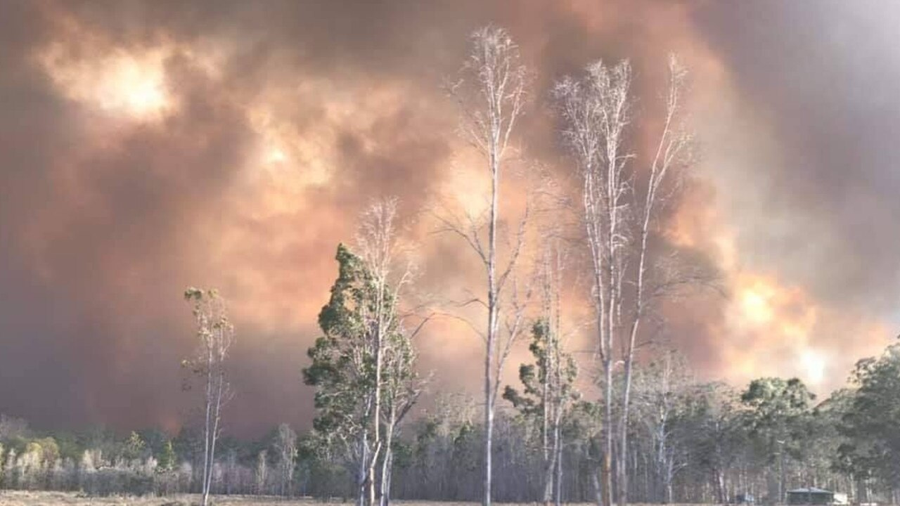 HIGH FIRE DANGER: In October, 2019, a State of Emergency was declared across NSW as crews from the Kyogle RFS helped out at the Rappville bushfire.