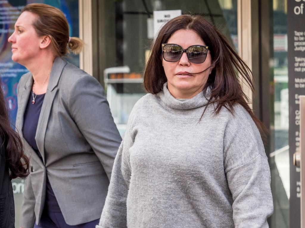 Roberta Williams is accused of trying to extort a TV producer. Picture: Jake Nowakowski