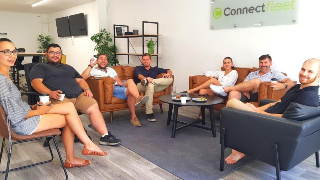 Connect Fleet staff members Lisa Britten, Kevin Carbe, Will Penney, Jayden Barry, Daisy Edwards, Adam Jervis and former staff member Lewis Green have managed to grow the Noosa business quite rapidly in the past two years.