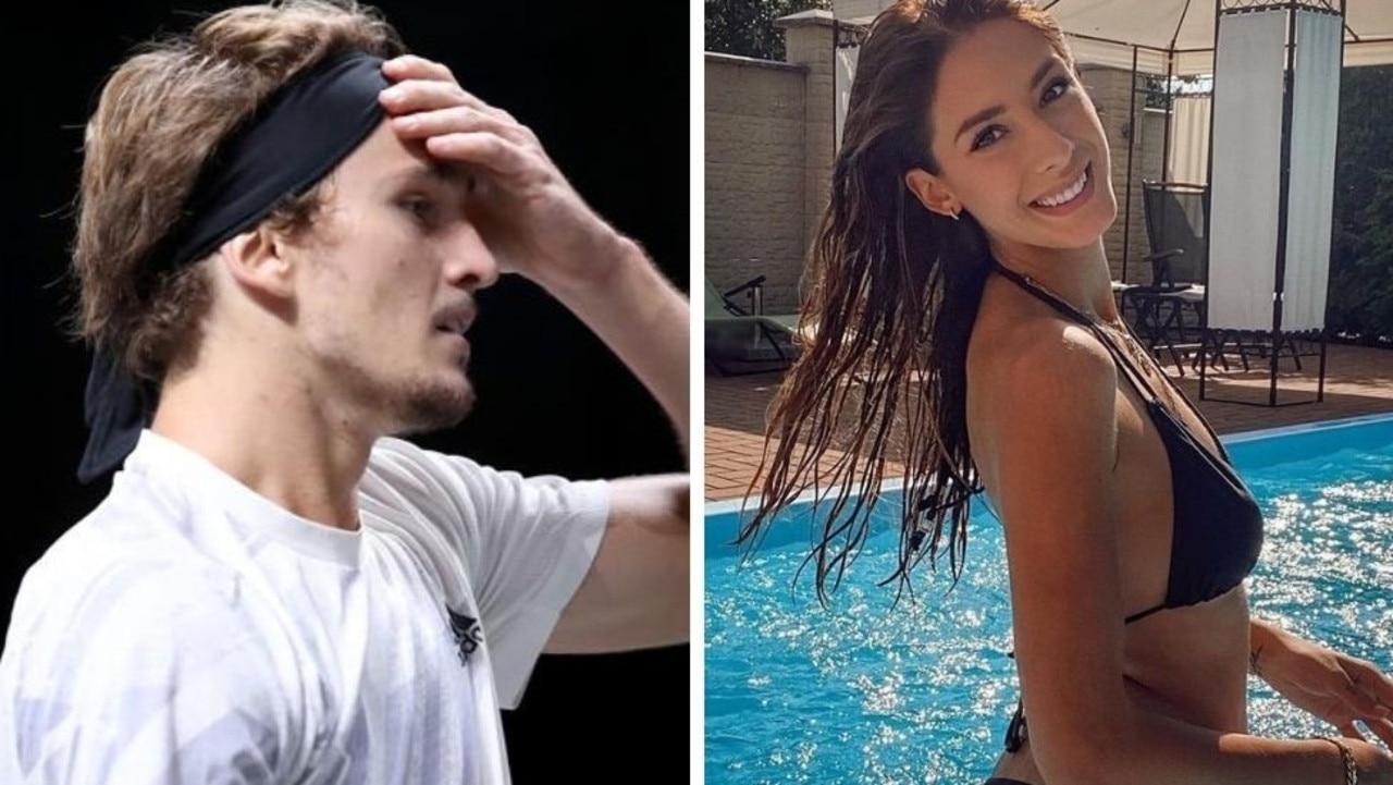 Tennis star Alex Zverev reacts to ex-girlfriends' twin bombshells