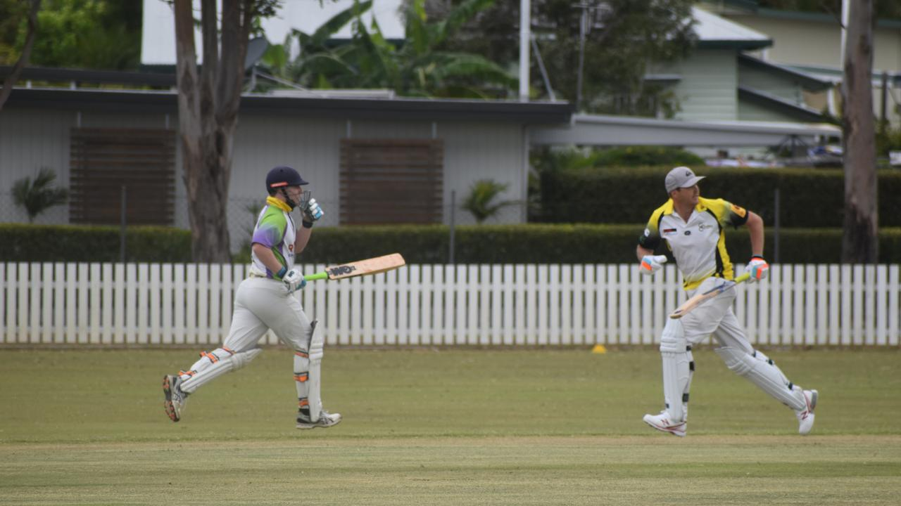 Cricket continues this weekend. Chamani Wetherspoon and Brett Harker score runs on the pitch. Photo: Stuart Fast
