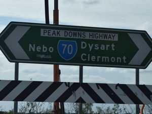 Work begins on Peak Downs Highway safety upgrades