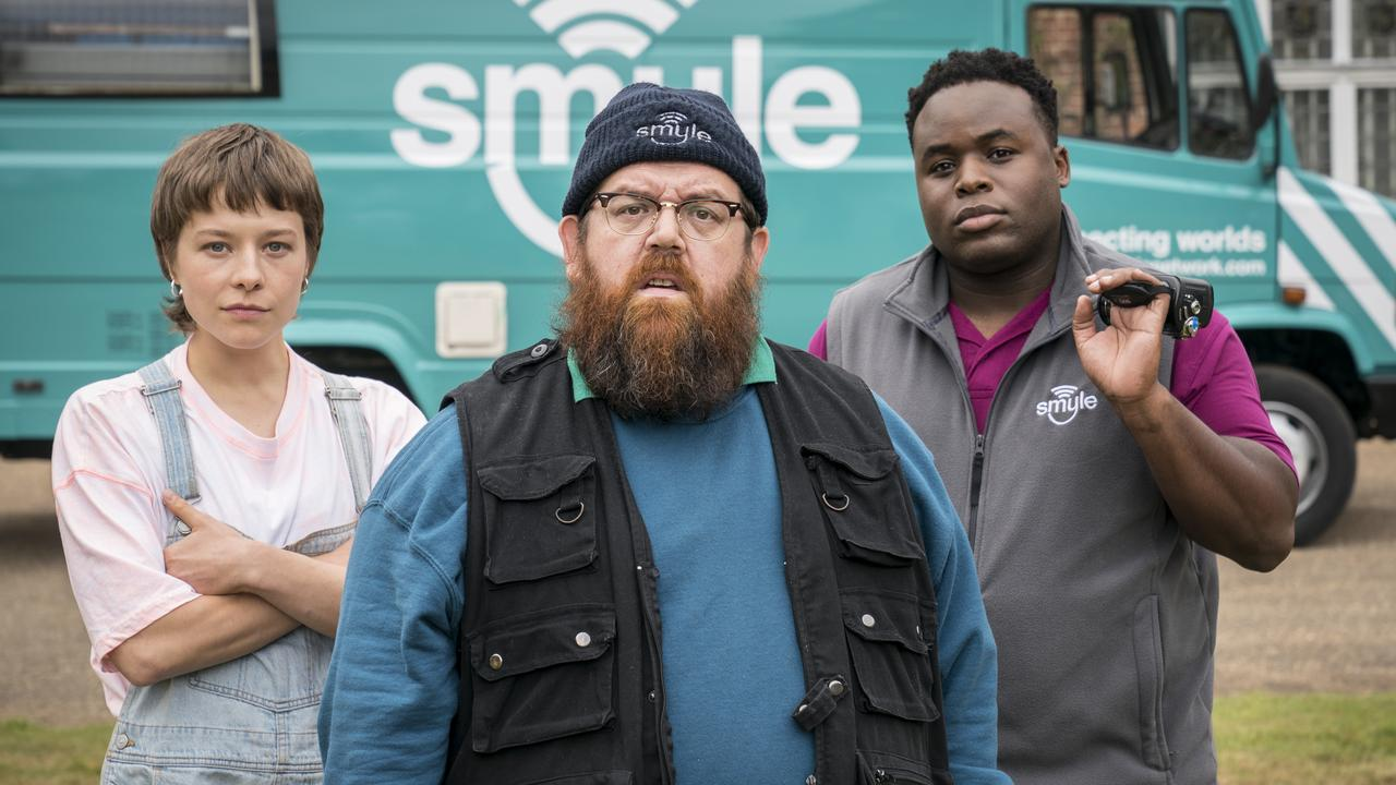 Nick Frost's new series, Truth Seekers