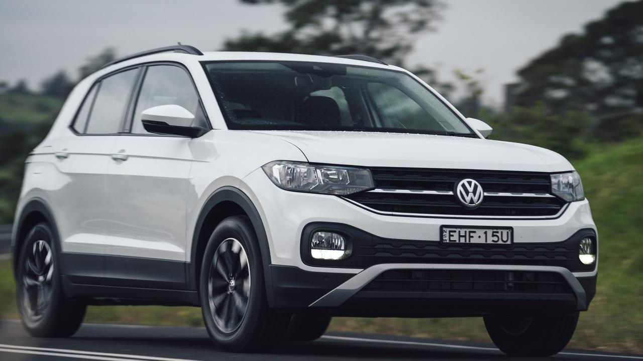 Volkswagen's T-Cross is 55mm longer than the Polo.
