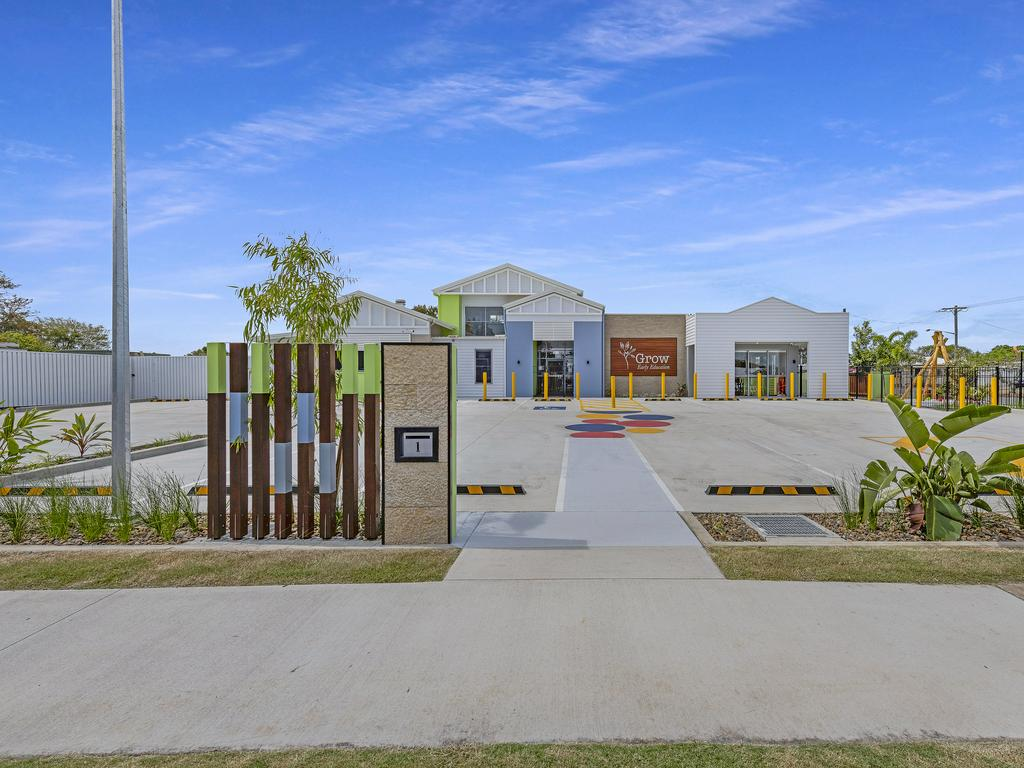 Grow Early Education is on Barber St, in Bundaberg North.