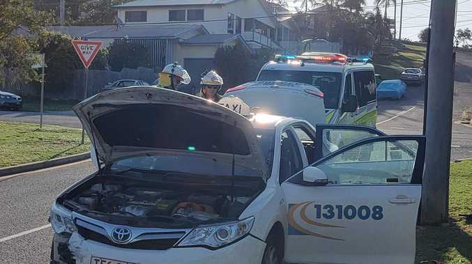Baby lucky to escape injury in South Gladstone crash